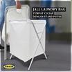 IKEA JALL Laundry Bag Tempat cucian dengan stand putih