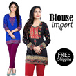NEW ARRIVALS-FREE SHIPPING JABODETABEK - UPDATE 18 JULY**BLOUSE IMPORT|MODEL INDIA|BANYAK PILIHAN