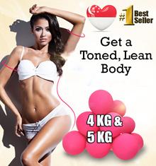Mini Dumbbells For Men / Women (4kg 5 kg dumbbell set) Quality Weights Training Home Gym Exercise