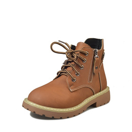 Despair vintage Martin Boots female student with short boots low heel slip female boots shoes