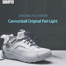 DUMPER New Canonball Original Allwhite Finest Leatherette Shoes MD-COP332-WH