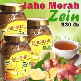 Jahe Merah Zein Botol / Toples 330 Gram