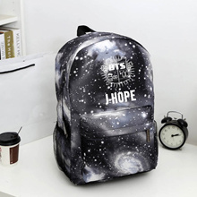 online Bangtan Boys BTS  backpack,korean kpop stars school bag , boys girls canvas book laptop satch