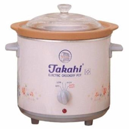TAKAHI 2404 H H/HEAT 3.5L SLOW COOKER