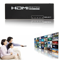 Hdtv 5 Port Hdmi Selector Splitter Switch Switcher 1080P For Ps4 Xboxone 0819MOnitor Re0819MOte Cont