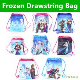 ★IMP HOUSE★[Children Gift][Frozen Drawstring Bag] Frozen Party Goodie Bag Elsa Anna