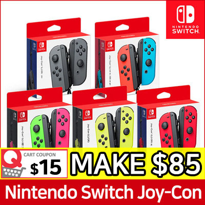 Nintendo Switch JOYCON Controllers Set Deals for only S$129 instead of S$129