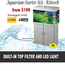 Aquarium Starter Kit- RS600 Sera/Azoo Package