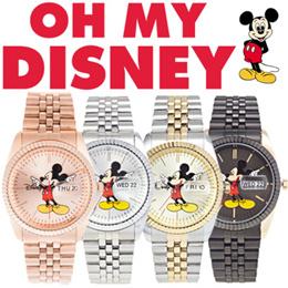 [BIG★SALE]*Best Gift *【DISNEY】 ♥ METAL COUPLE WATCH ♥ 100% Authentic Disney Men Women Wristwatch