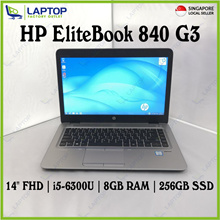 "[NEW] HP EliteBook 840 G3 vPro (i5-6300/8GB/256GB SSD/Win7 Pro/14""FHD) Sealed Box"