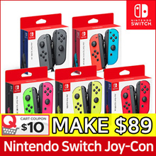 Nintendo Switch JOY CON Controllers Set ★ Neon Green Pink / Neon Red Blue / Grey / Neon Yellow