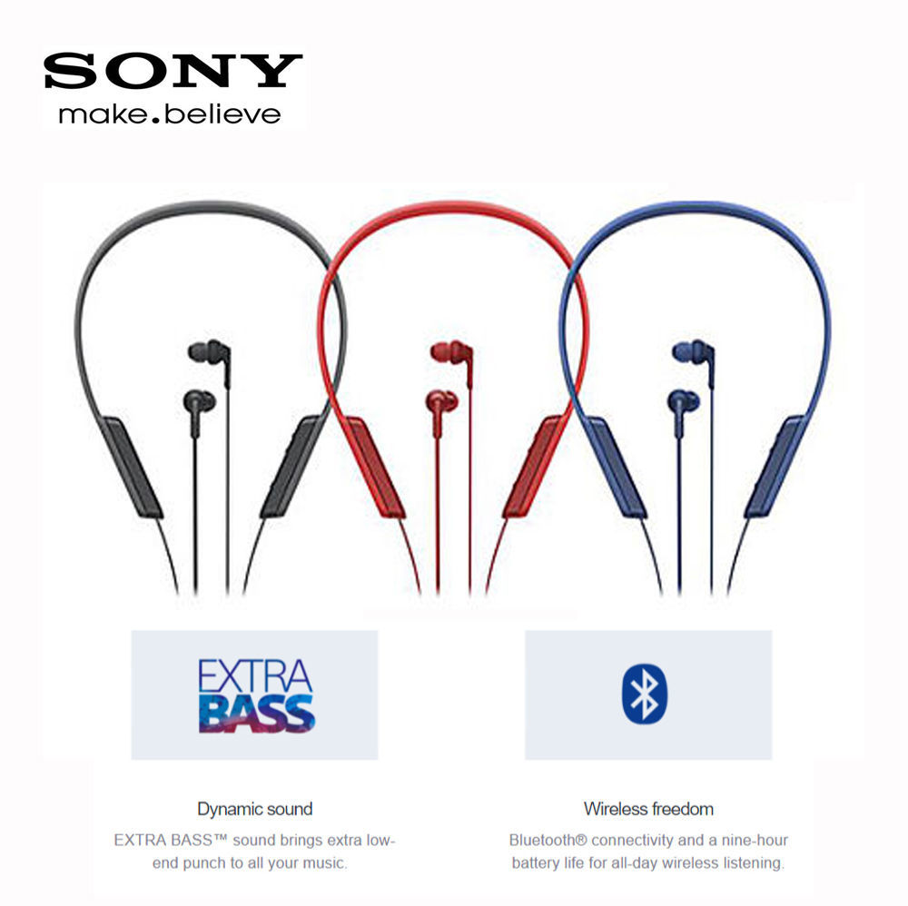 Qoo10 Genuine Sony Mdr Xb70bt Extra Bass Neck Band Bluetooth In Earphone Fit To Viewer Prev Next Ear Headphones
