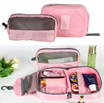 2 in 1 Toiletries Bag / Cosmetic Bag / Travel Pouch / Multifinction Pouch
