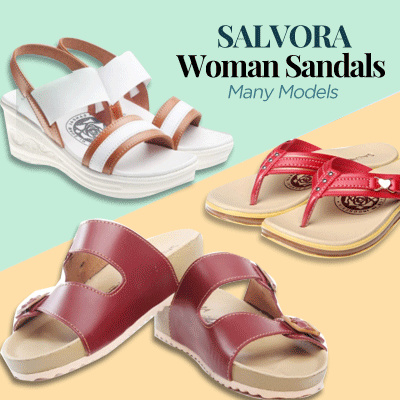 SALVORA Sandal Wanita PW Collection Deals for only Rp71.500 instead of Rp71.500