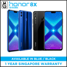 Honor 8X 20MP Dual Rear Camera 6.5 inch 4 GB 128GB Kirin 710 Octa core 4G Smartphone - Black