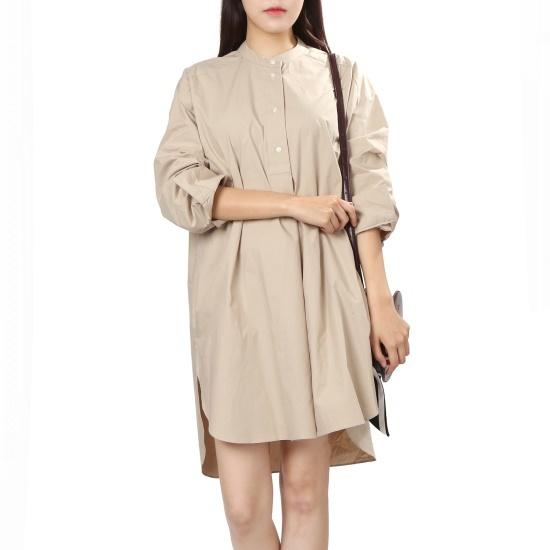 ラブLAPノカラ・ショットシャツ型opsAH4WO941 面ワンピース/ 韓国ファッション