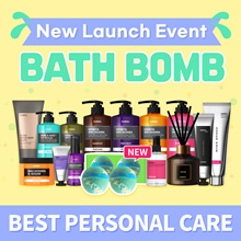 ✨New Launching BATH BOMB ✨[KUNDAL] Hair care / Body Care / Hand Care / Personal Care