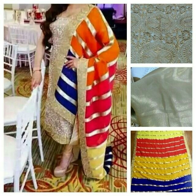 Qoo10 Punjabi Suit Nude Color New Fashion Designer Women S Clothing
