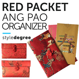 CNY ANG BAO ORGANIZER! Red Packet Pouch hong bag Chinese New Year decoration bag bags wallet