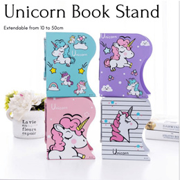 Teachers day gift - Extendable Unicorn Book Stand / Book Ends