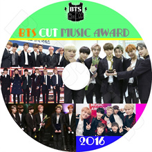 【K - POP DVD】 ☆ ★ BTS CUT 2016 MUSIC AWARD ☆ Gaon Melon MAMA KBS MBC Seoul Awards etc 【Bulletproof Shonen Group Bantan Boys' Group】
