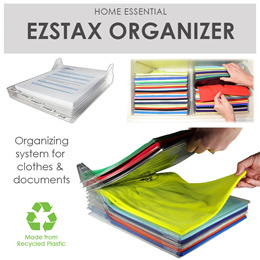 EZSTAX Clothes Organizer  - Buy in Bundles and Save!