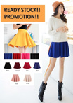 【Ready Stock Promotion !!!】 Korean Style Casual Sun Skirt Without Safety Pants ★ Buy 2 Free shipping ★