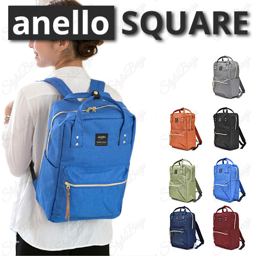 Anello Square Backpack!New Arrival|unisex Backpack|Best Seller in JAPAN Deals for only Rp320.000 instead of Rp320.000