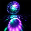U - キングミニ回転マジックボールステージライトKTVクリスマスパーティーウェディングショークラブパブ