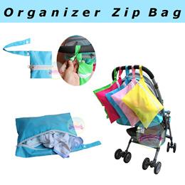 Waterproof * Diaper * Nappy * Stroller * Pram * Carrier * Storage * Organizer Zip Bag * Dirt Clothes