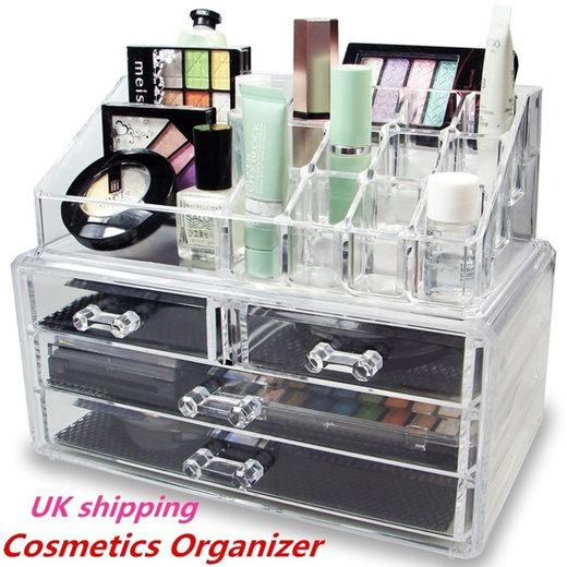Clear Acrylic Cosmetic Organizer