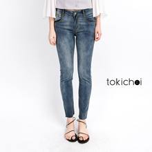TOKICHOI - White Washed Jeans-171918-Winter