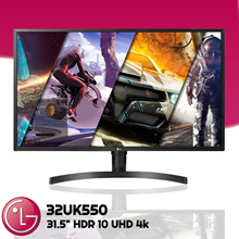 LG Monitor [32UK550] 31.5 Inch HDR 10 UHD 4k 3 Year Warranty