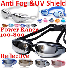 Over3000Review!Reflective/Anti fog/UV shield/Adult/kids Swimming goggles/Power Degree Diving goggles