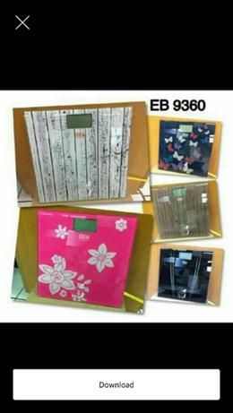 Timbangan badan gea motif EB 9360 SJ0057