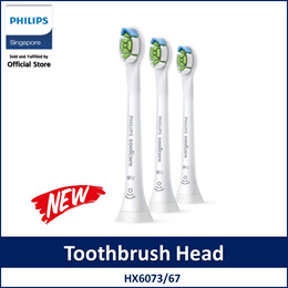 Philips HX6073/67 Sonicare W2c Optimal White compact Compact sonic toothbrush heads