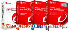 ♦ TREND MICRO Maximum  /Internet Security Antivirus Security 2018 For 3 device( Latest Version) ♦