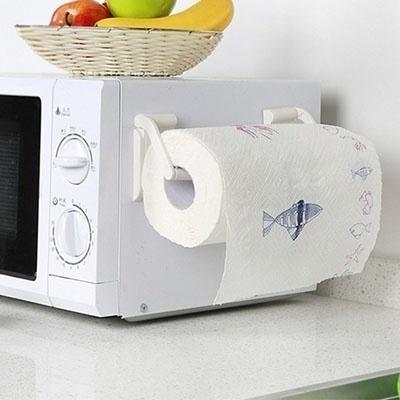 Qoo10 Papertoweldispenser 1 Pair Set Magnetic Paper Towel Holder