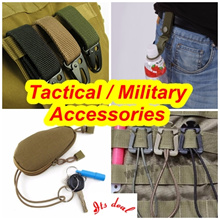 ♥ [ITS_DEAL] ♥ Military Tactical accessories ♥ carabiner ♥ camping   ♥  Hiking ♥ survival