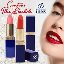 Inez Color Contour Plus Lipstick 29 warna pilihan