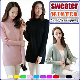 2019 New Women Autumn Winter Sweater Cardigan/Korea Fashion Winter Wear Jackets/ Knitwear/ Knitted