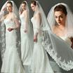 Elegant Tulle Veils | Bridal Veils | Lace Floral Veils | Elbow Veils | Fingertip Veils | Wedding Birdcage Veils to Cathedral Veils