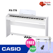 [ DIGITAL PIANO SALE! ] CASIO PX-770 Privia Digital Piano| Music Keyboard |   Portable Keyboard |