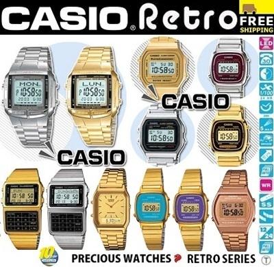 0439124aead  THE LOWEST PRICE PROVEN IN SG  CASIO RETRO COMPLETE SERIES! Casio  Illuminator RETRO