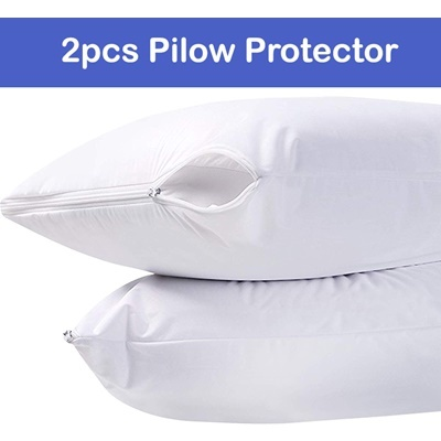 2pcs water-proof pillow protector