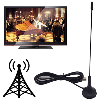 DVB-T TV Antenna Freeview Aerial HDTV Strong Signal Booster