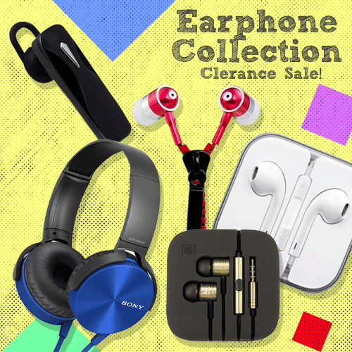 Promo SALE All Type Earphone On The Go / Bluetooth Wireless / Best For Music / Samsung-Sony-Xiaomi Deals for only Rp60.000 instead of Rp187.500