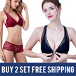 BUY 2 SET FREE SHIPPING!2017 NEW DESIGNS  Bra and Panty set / Lace Bra Set Sexy Bra/Push up