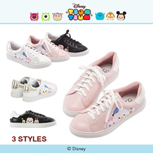 Gracegift-Disney Tsum Tsum And Friends Sneakers/Women/Ladies/Girls Shoes/Taiwan Fashio
