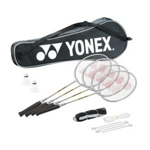 YONEX GR303S Family Badminton Racket Set (4-PC SET). Singapore Seller. Genuine. Lowest Price.